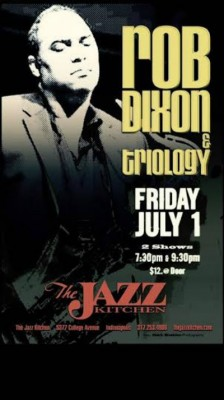 Triology at the Jazz Kitchen