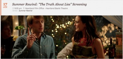 Summer Rewind: The Truth About Lies Screening