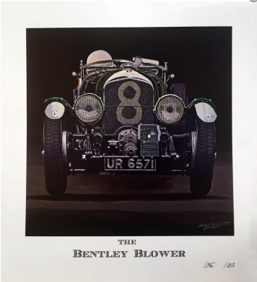 THE BENTLEY BLOWER: Phillip Dutton-White