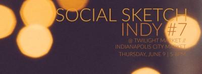 Social Sketch Indy #7