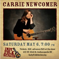 An Evening with Carrie Newcomer | Indy Folk Series