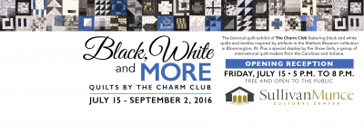 Black, White and More-Quilts by The Charm Club