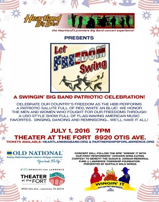 "Heartland Big Band Presents ""Let Freedom Swing"""