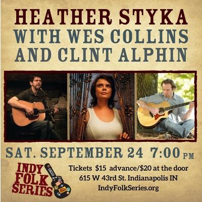 Heather Styka & Friends at Indy Folk Series
