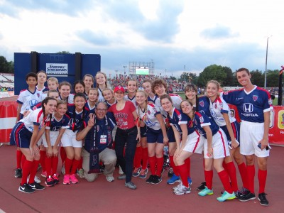 Indianapolis School of Ballet Performs the Indy Eleven Halftime Show
