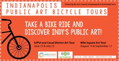 Public Art Bike Tour: IUPUI and Canal District