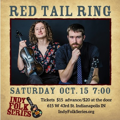 Red Tail Ring at Indy Folk Series