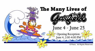 The Many Lives of Garfield Exhibition