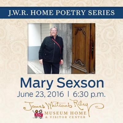 J.W.R. Home Poetry Series: Mary Sexson