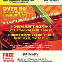 FLAVA  FRESH 13 !  @  PRIMARY COLOURS ART GALLERY ---  ARTISTS' RECEPTION & ARTISTS' TALK  ...  YOU'RE INVITED!