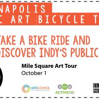 Indianapolis Public Art Bicycle Tour: Mile Square