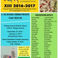 FLAVA FRESH Xlll: 3rd Exhibition
