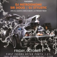 Back to the Future (BTTF)..... FREE After Party for First Friday at The Murphy Arts Building.