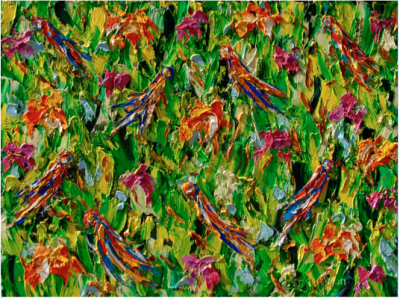 Joyful Colors: New works by Christine Drummond