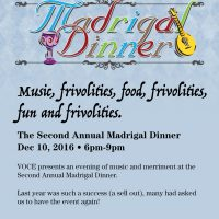 Madrigal Dinner-Second Annual