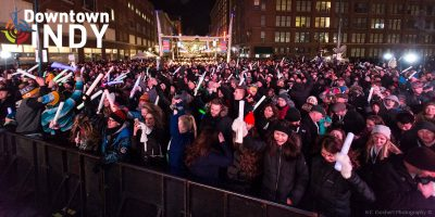 Downtown Indy Inc.'s New Year's Eve Celebration