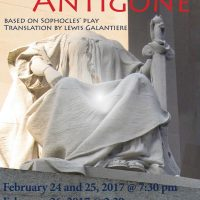 Anouilh's ANTIGONE