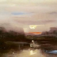 New Views: Landscapes in Oil and Charcoal
