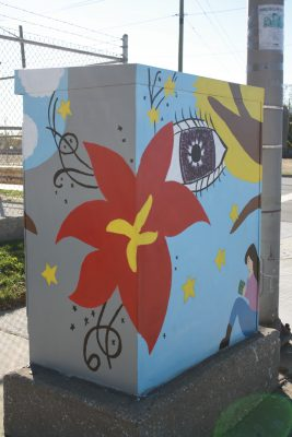 Washington and State Traffic Signal Box
