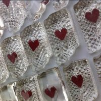 Make Your Own Sculpted Glass Heart Paperweight