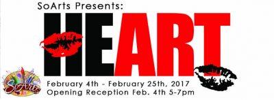 SoArts 'Heart' Exhibition
