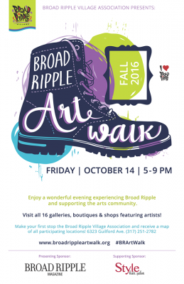 Broad Ripple Village Fall Art Walk