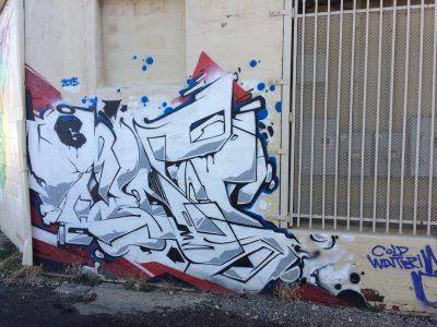 Virginia Ave Alley Graffiti I