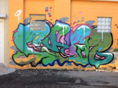 Virginia Ave Alley Graffiti II