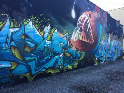 Angler Fish Mural
