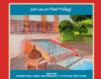 First Friday at Villa dell' Artista