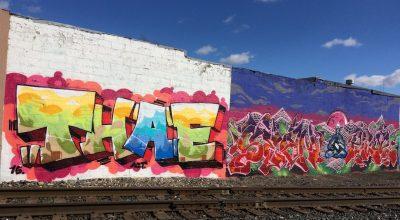 S Shelby St Graffiti Wall