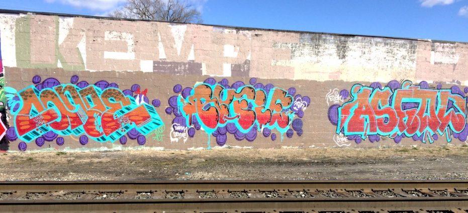 Grove Street Graffiti