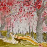 Marbled Impressionism - New Works