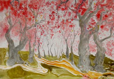 Marbled Impressionism - New Works