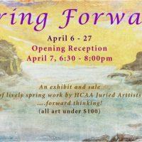 Spring Forward Exhibition