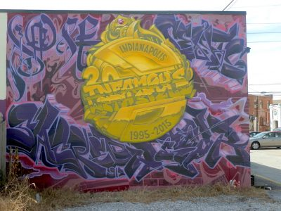 20th Anniversary Infamous with Style Mural