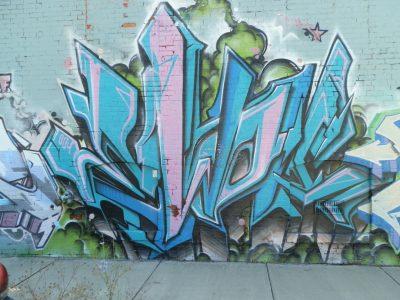 American Tent and Awning Graffiti
