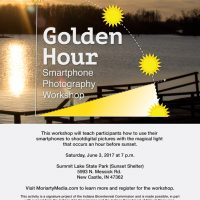 """Golden Hour"" Smartphone Photography Workshop at Summit Lake State Park"