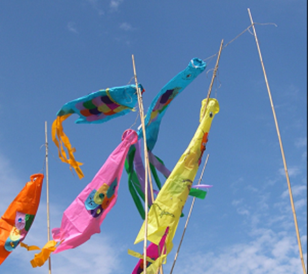 Make your own fish kite presented by sullivanmunce for Create your own fish