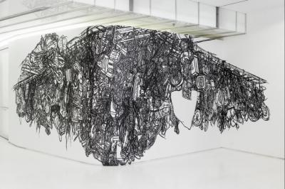 Heeseop Yoon Mural Presented by iMOCA at CityWay Gallery