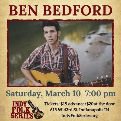 Ben Bedford at Indy Folk Series