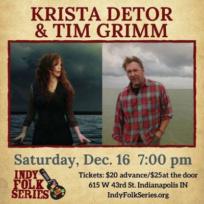 Krista Detor and Tim Grimm at Indy Folk Series