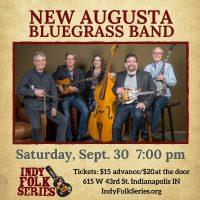 New Augusta Bluegrass Band at Indy Folk Series