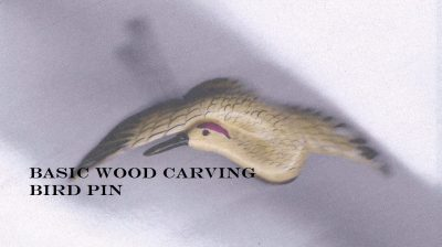 Bird Pin Carving Workshop SURPASSING ADVERSITY: TH...