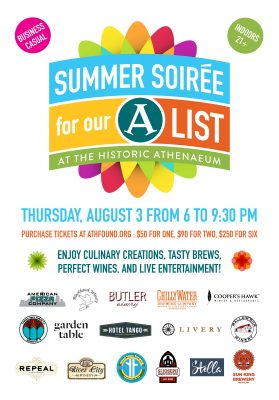 Summer Soiree at the Athenaeum!