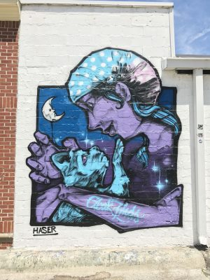 Alley Cat Building Mural