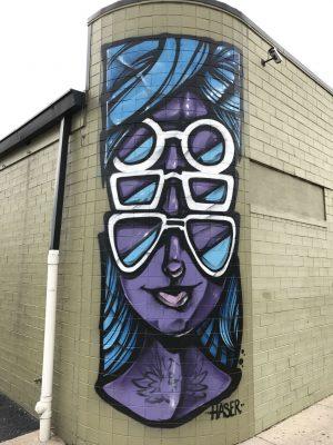 Ossip Optometry Mural