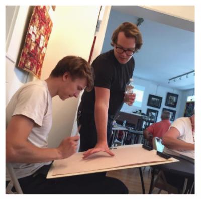 Monday Night Drawing Class
