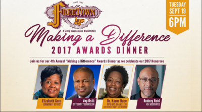"""""""Making a Difference"""" Awards Dinner"""