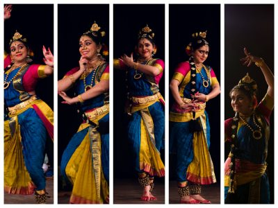 Kuchipudi performance by Aparna Satheesan at Heartland Film Festival
